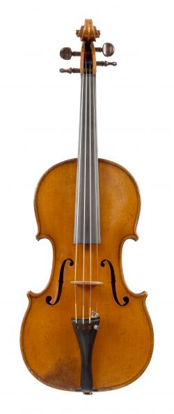 Front of a violin by Johannes Franciscus Cuypers, 1807