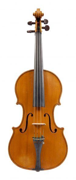 Front of a violin by Giuseppe Pedrazzini, Milan, 1922, ex-Bob Lewin