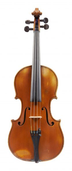 Front of a violin by Nestor Audinot, Paris, 1897