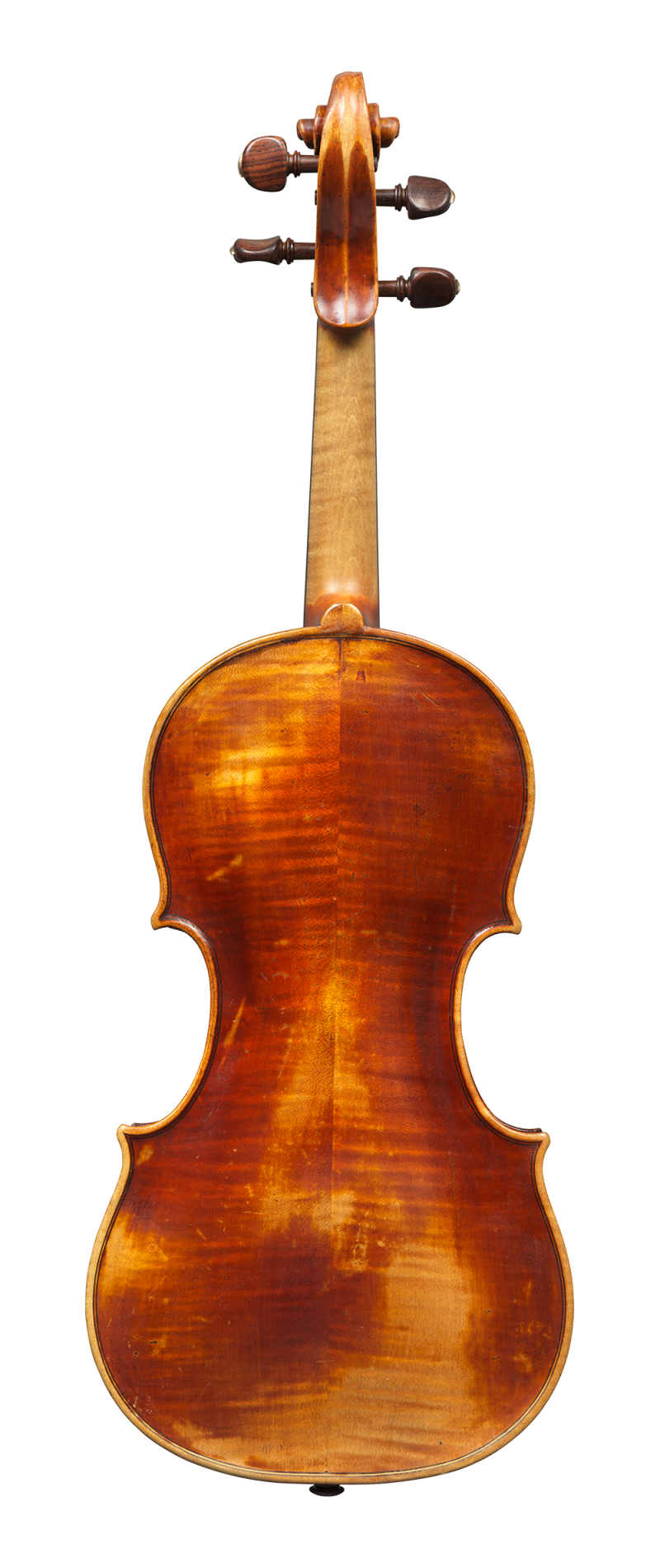 Back of a violin by Mathias Albani, circa 1710. Albani was an inspiration for makers in his region for generations to come and the sound of this violin is colourful and powerful yet very versatile.
