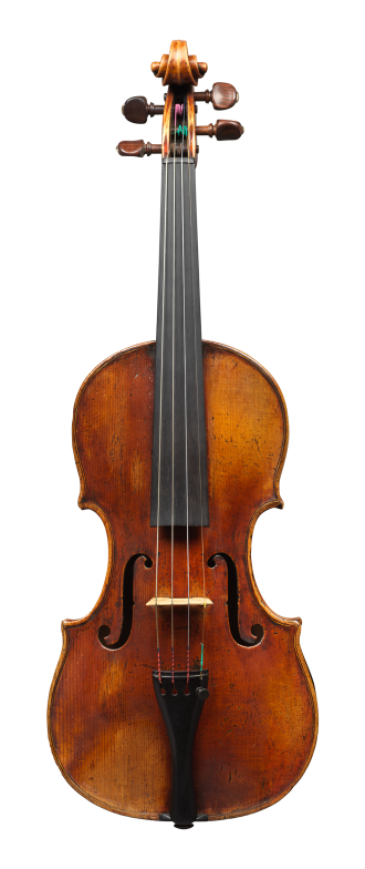 Front of a violin by Mathias Albani, circa 1710. Albani was an inspiration for makers in his region for generations to come and the sound of this violin is colourful and powerful yet very versatile.