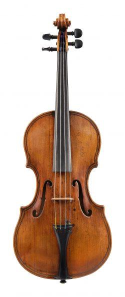 Front of a violin by Giovanni Paolo Maggini, Brescia, dated c1620