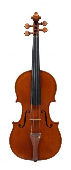 front of a violin by Jean-Baptiste Vuillaume, Paris, 1849