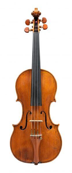 front of a violin by Andrea Guarneri, Venice, 1687