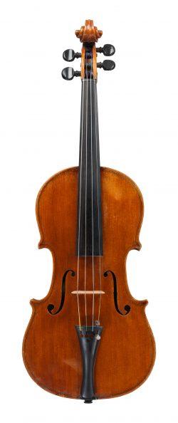 front of a violin by Armando Altavilla, Naples, 1938