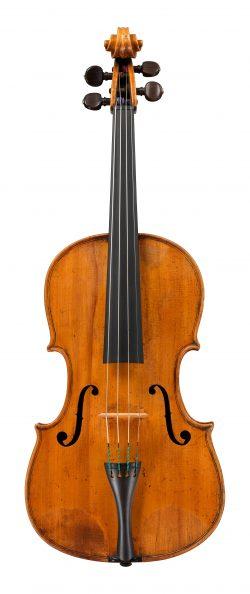 front of a viola by Carlo Ferdinando Landolfi, Milan, c1780