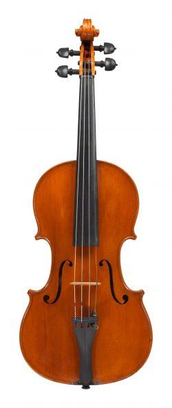 front of a violin by Cesare Candi, Genoa, 1930