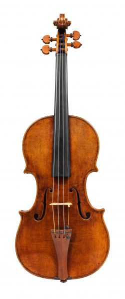 Front of a violin by Matteo Goffriller, Venice, 1706