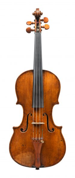 Front of a violin by Michele Deconet, Venice, c1740