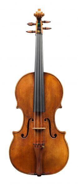 Front of a violin by Nicolo Amati, Cremona, 1650
