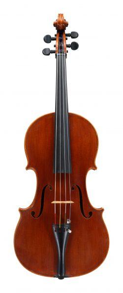 Front of a viola by Pietro Sgarabotto, Parma, 1938