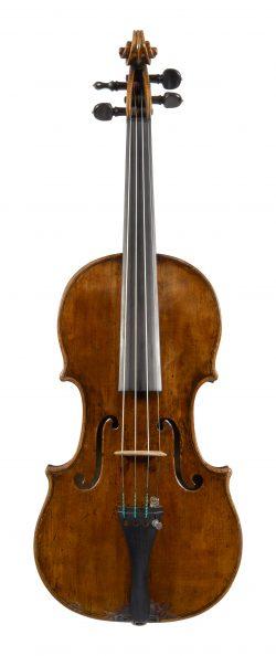 Front of a violin by Andrea Guarneri, Cremona, c1685