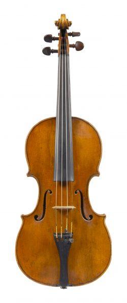 Front of a violin by Carlo Tononi, Venice, circa 1720
