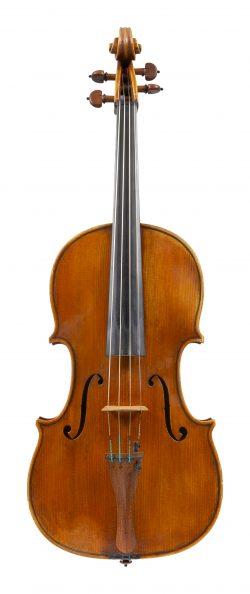 Front of a viola by Gaetano Sgarabotto, Parma, circa 1940