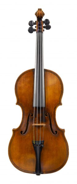 Front of a violin by Jean-Baptiste Vuillaume, Paris, circa 1830