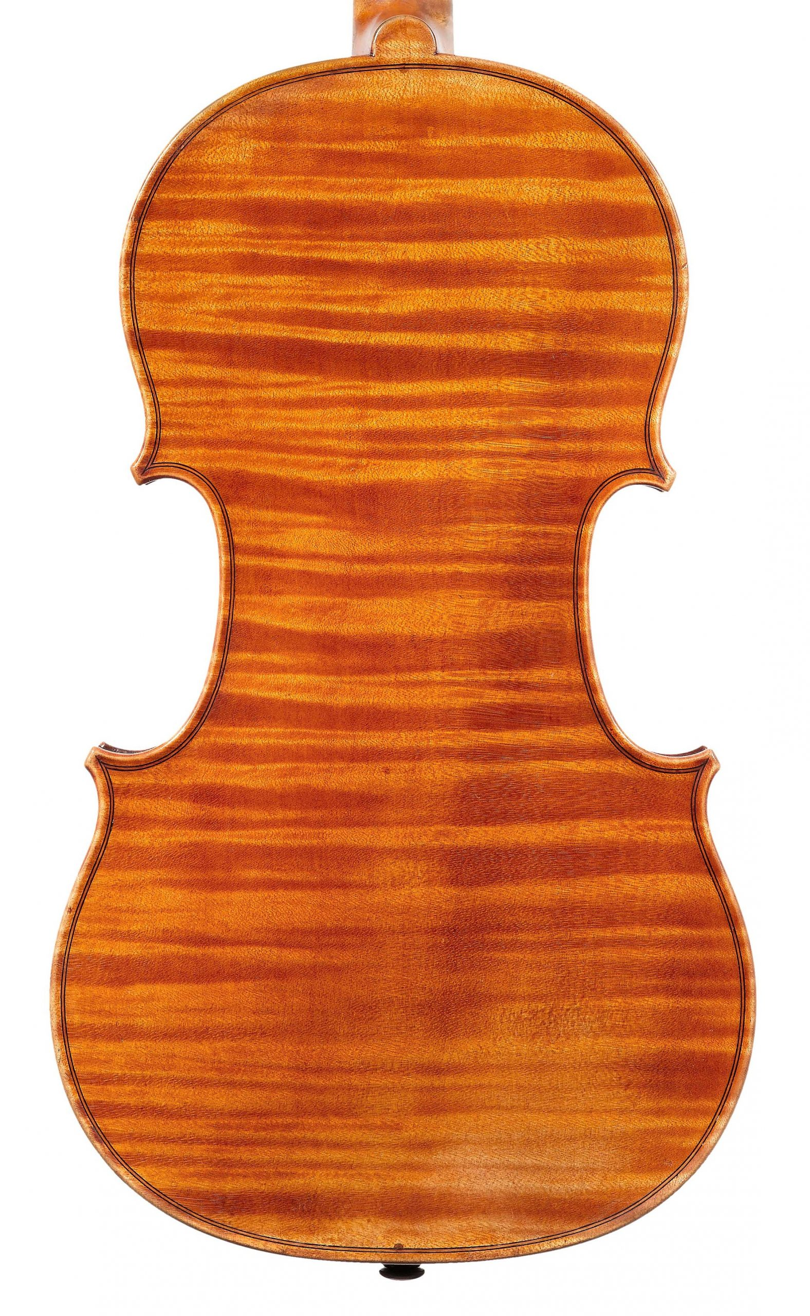 Back of St. Jean from the Evangelists quartet by JB Vuillaume, dated 1863