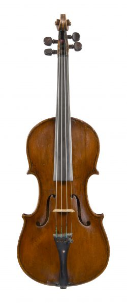 Front of a violin by Ludovico Mariani, Pesaro, 17th century