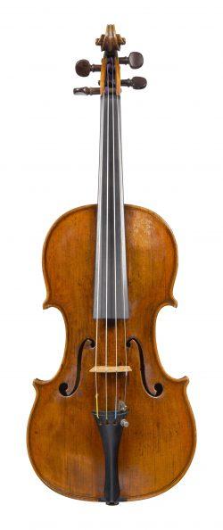 Front of a violin by Nicola Marchioni, Bologna, dated circa 1740