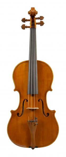 Front of a violin by Sesto Rocchi, 1977