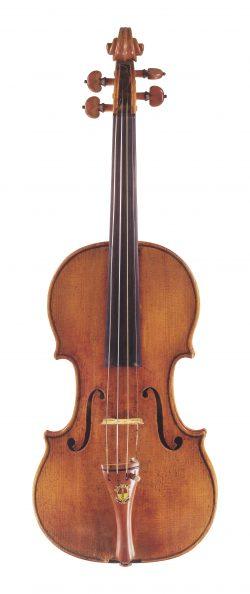 front of a violin by Antonio Stradivari, Cremona, 1701, Ex-Markees