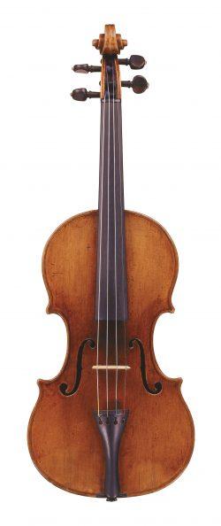 Front of a violin by Gioffredo Cappa, Saluzzo, circa 1695