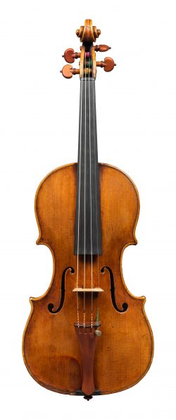 Front of a violin by Gioffredo Cappa, Saluzzo, circa 1715
