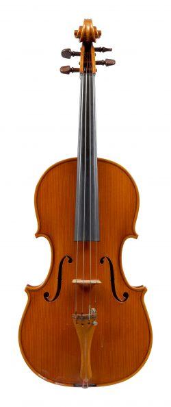 Front of a viola by Aldo Zani, Cesena, 1969