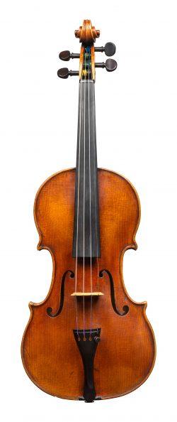 Front of a violin by Bernard Simon Fendt I, London, circa 1800