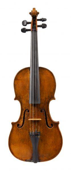 Front of a violin by Giovanni Francesco Celoniati, Turin, circa 1740