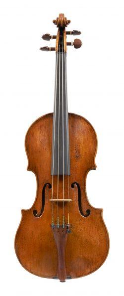 Front of a violin by Nicolo Gagilano, Naples, circa 1770