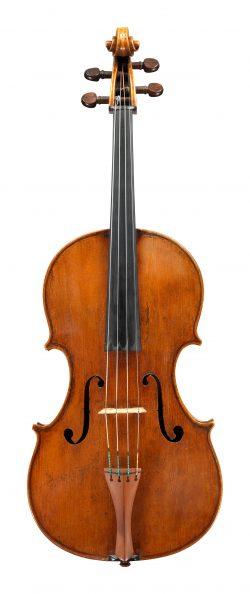 Front of a viola by Giuseppe dall'Aglio, Paris, circa 1830