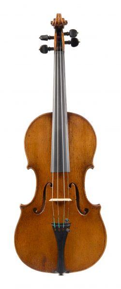 Front of a violin by Alessandro Mezzadri, Ferrara, circa 1730