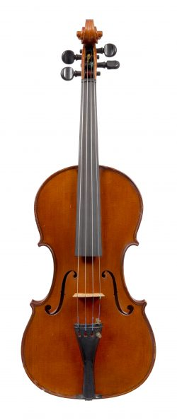 Front of a violin by Ambrogio Sironi, Milan, 1927