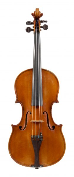 Front of a violin by Ambrogio Sironi, Milan, 1935