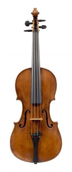 Front of a violin by Anton Posch, Vienna