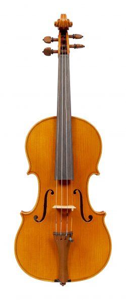 Front of a violin by Antonio Capela, Anta Espinho, 1987