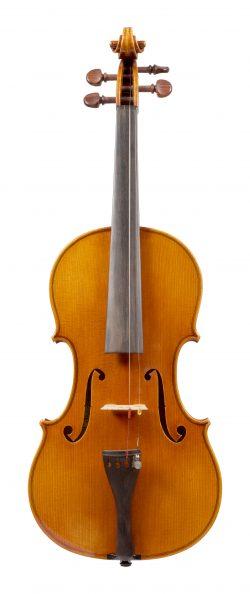 Front of a violin by Antonio Capela, Anta Espinho, 1979