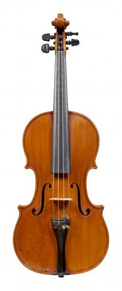 Front of a violin by Antonio Cavalazzi, Ravenna, 1968