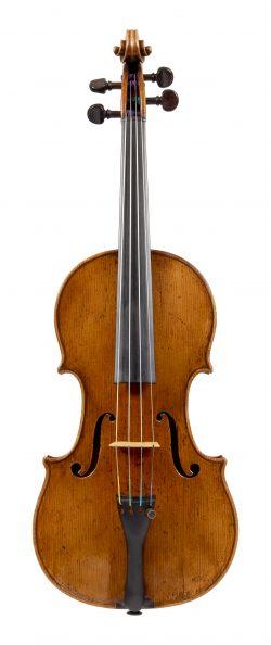 Front of a violin by Antonio Gragnani, Livorno, circa 1770