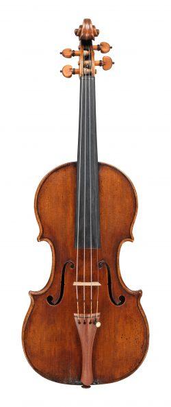 front of a violin by Antonio Stradivari, Cremona, circa 1698, Ex-Guyot
