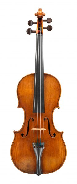 front of a violin by Antonio Stradivari, Cremona, 1667, Ex-Sachs