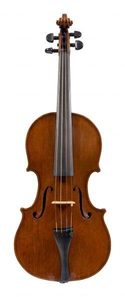 Front of a violin by Armando Altavilla, Naples, 1922