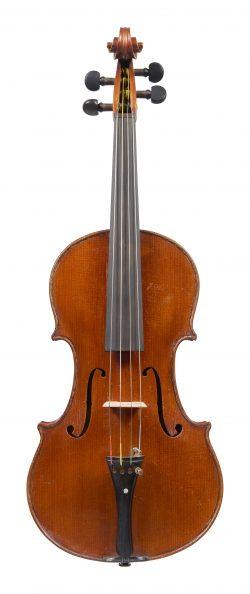 Front of a viola by Armando Monterumici, Bologna, circa 1915-20