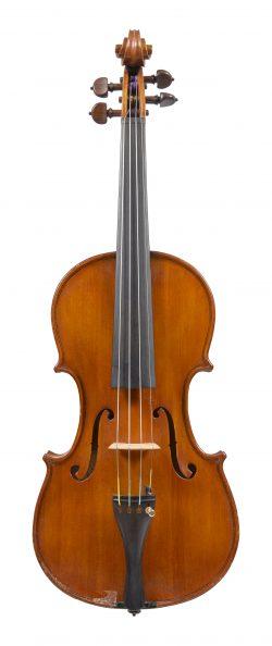Front of a violin by Armando Piccagliani, 1939