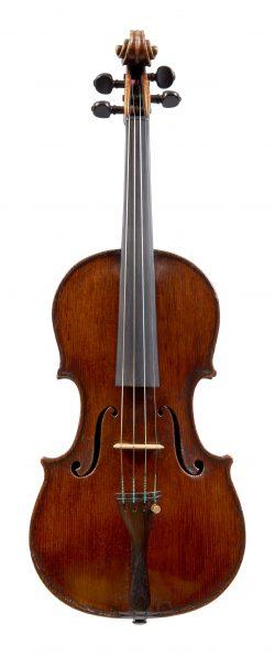 Front of a violin by Carlo Carletti, Pieve di Cento, circa 1910