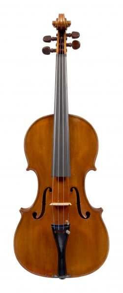 Front of a violin by Carlo Ravizza, Milan, 1939
