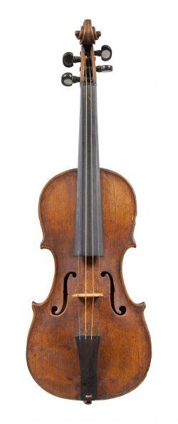 Front of a child's violin by Carlo Tononi, Bologna, 1693