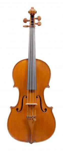Front of a violin by Cesare Candi, Genoa, 1912