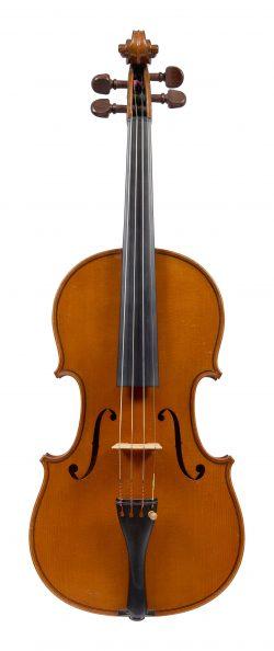 Front of a violin by Charles Jean Baptiste Collin-Mezin I, Paris, 1893