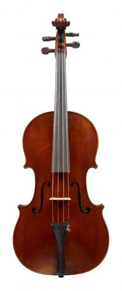 Front of a viola by Claude Augustin Miremont, Paris, 1870